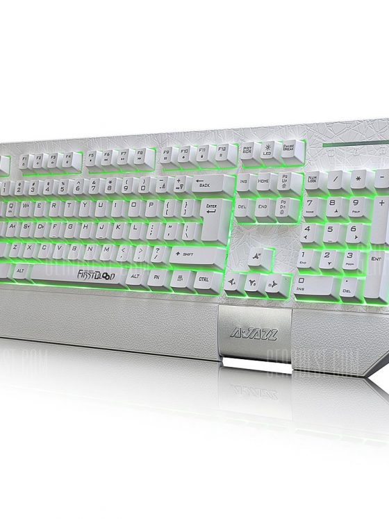 italiaunix-Ajazz AK30 Membrane Keyboard with Wrist Pad