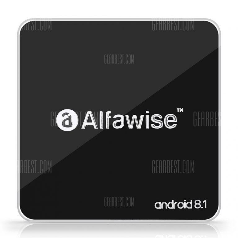 italiaunix-Alfawise A8 TV BOX Android 9.0 Rockchip 3229 1GB RAM + 8GB ROM  Gearbest
