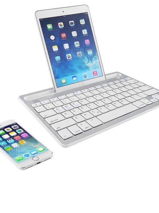 italiaunix-FUDE IK3380 Wireless ABS Mini Bluetooth Keyboard