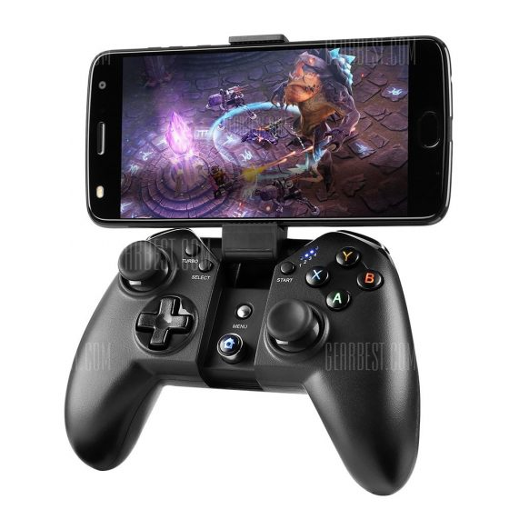 italiaunix-MAD GIGA X100 Wireless Controller Joystick with a Phone Holder