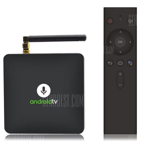 italiaunix-MECOOL KM8 Google Certified Android TV Box with Voice Remote  Gearbest
