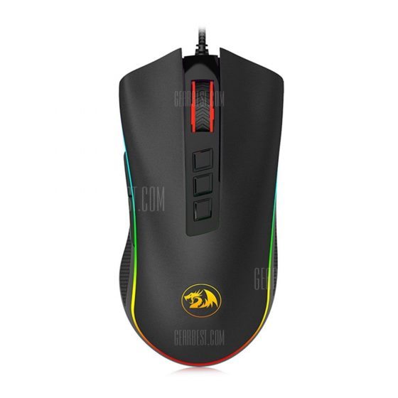 italiaunix-Redragon M711 New RGB Wired Gaming Mouse