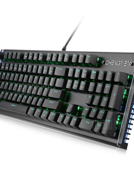 italiaunix-Team Wolf X61 Wired Gaming Mechanical Keyboard Outemu Switch