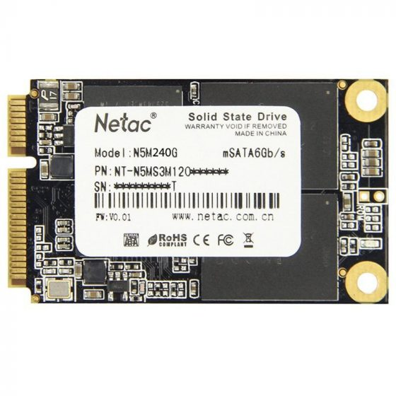 italiaunix-NETAC N5M SSD Internal 240GB Solid State