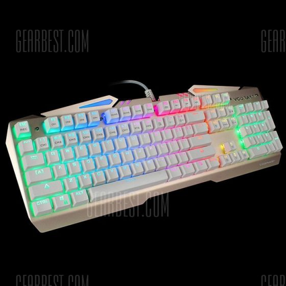 italiaunix-Team Wolf X01S NKRO CIY Wired USB Mechanical Keyboard with LED Indicator