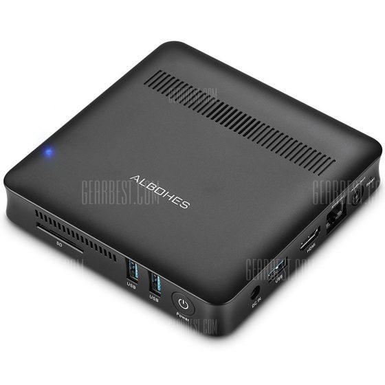italiaunix-ALBOHES V9 MINI PC with Dual-band WiFi