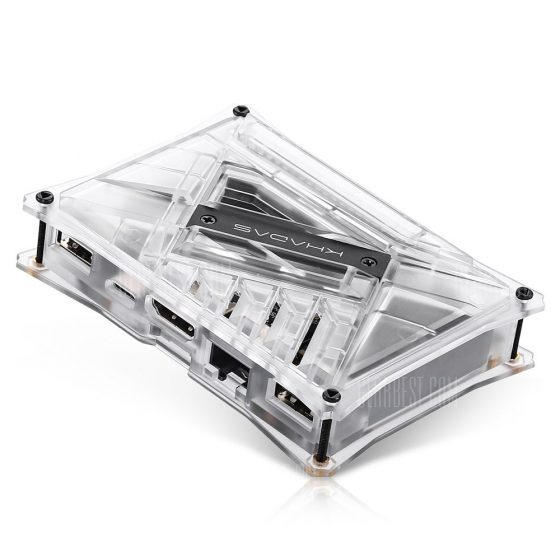 italiaunix-Khadas VIM2 Basic TV Box 2 x 2 MIMO WiFi Gigabit LAN  Gearbest