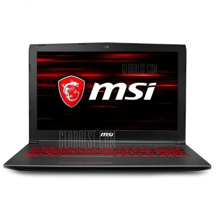 italiaunix-MSI GV62 8RD - 092CN Gaming Laptop