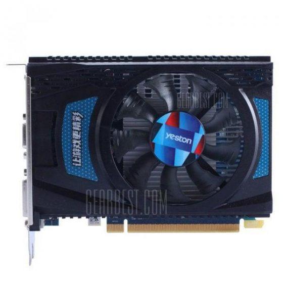 italiaunix-Scheda Grafica YONDON AMD Radeon R7 240 4GB GDDR5
