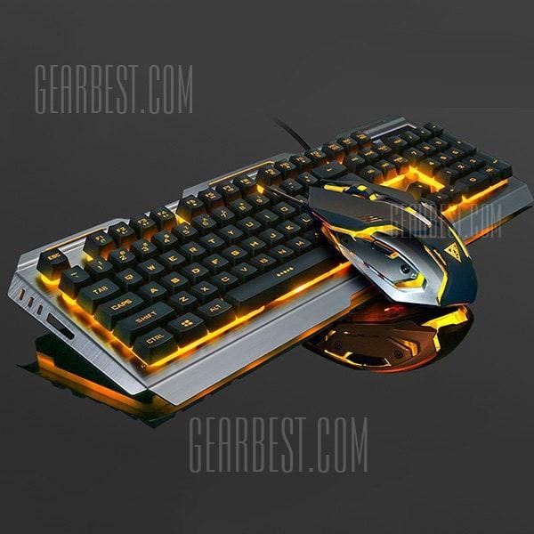 italiaunix-V1 Wrangler Mechanical Keyboard Mouse Set