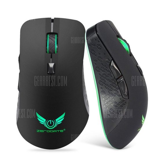 italiaunix-ZERODATE X90 Wireless Rechargeable Mouse  Gearbest
