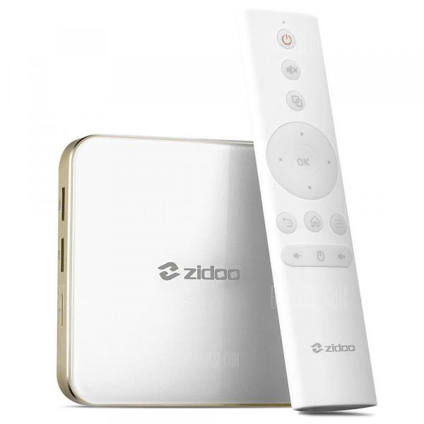 italiaunix-Zidoo H6 Pro TV Box YouTube 4K Netflix Full HD Streaming