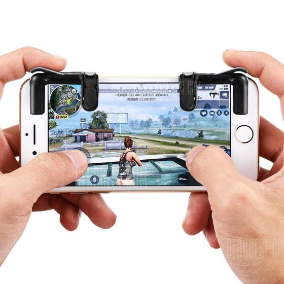 italiaunix-gocomma Pair of Mobile Game Fire Button Shooting Trigger
