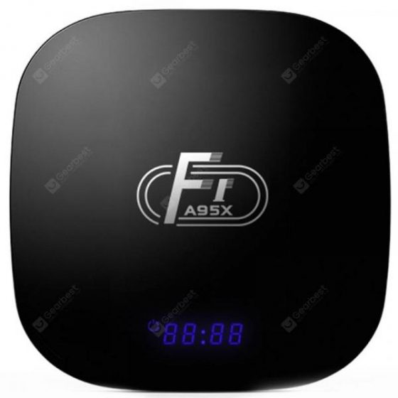 italiaunix-A95X F1 Smart TV Box 2GB RAM + 16GB ROM  Gearbest