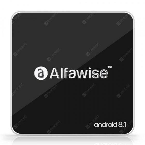 italiaunix-Alfawise A8 TV BOX Rockchip 3229 Android 8.1