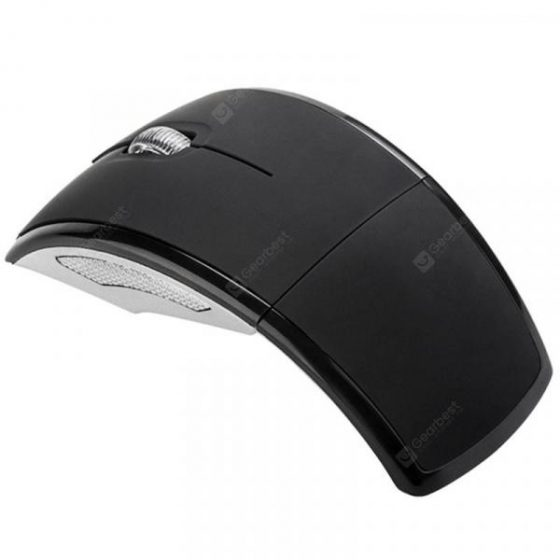 italiaunix-Alfawise WM04 2.4G Wireless Folding Arc Optical Mouse