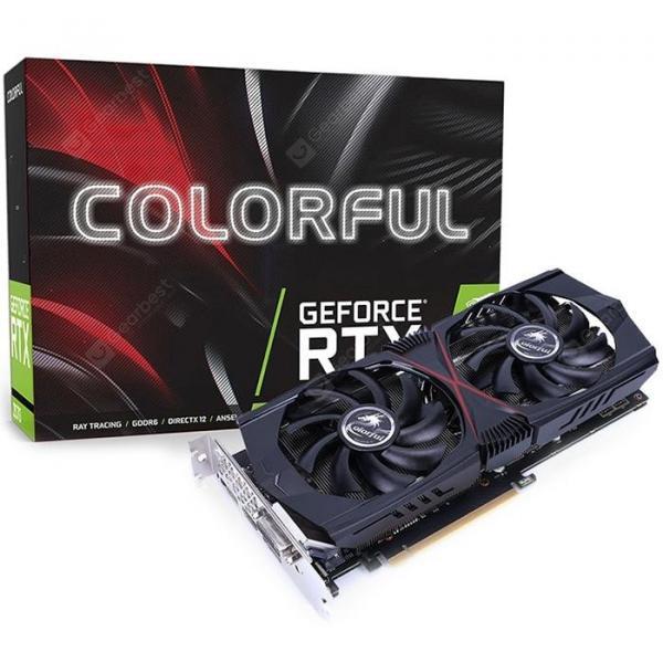 italiaunix-Colorful GeForce RTX 2060 6G HA1V Nvidia Graphics Card