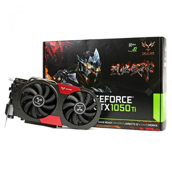 italiaunix-Colorful iGame 1050Ti Gaming Video Graphics Card