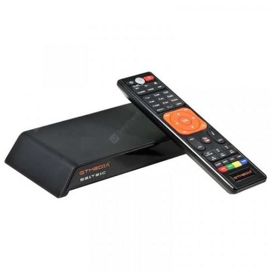italiaunix-GTMEDIA V8 PRO2 DVB - S2 / T2 / C Full HD 1080P TV Box WiFi LAN