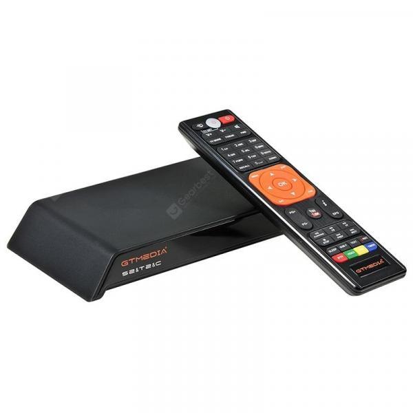 italiaunix-GTMEDIA V8 PRO2 DVB - S2 / T2 / C Full HD 1080P TV Box WiFi LAN