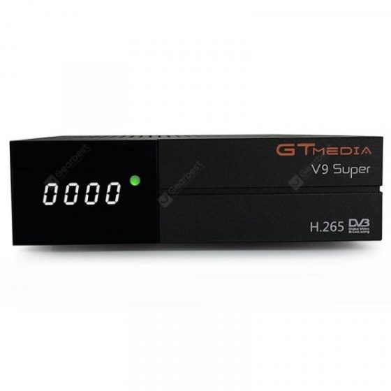 italiaunix-GTMEDIA V9 Super DVB - S2 TV Box with LED Display H.265 WiFi HDMI