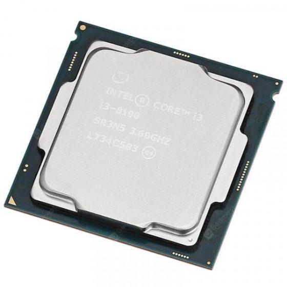 italiaunix-Intel Core i3 8100 CPU Quad Core 4 Thread / 3.6GHz / LGA 1151 / 6MB L3 Cache