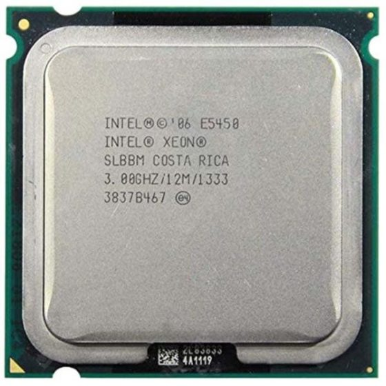 italiaunix-Intel Xeon E5450 Quad-Core 3.0GHz 12MB SLANQ SLBBM Processor Works On LGA 775 Mainboard No Need Adapter Intel CPU