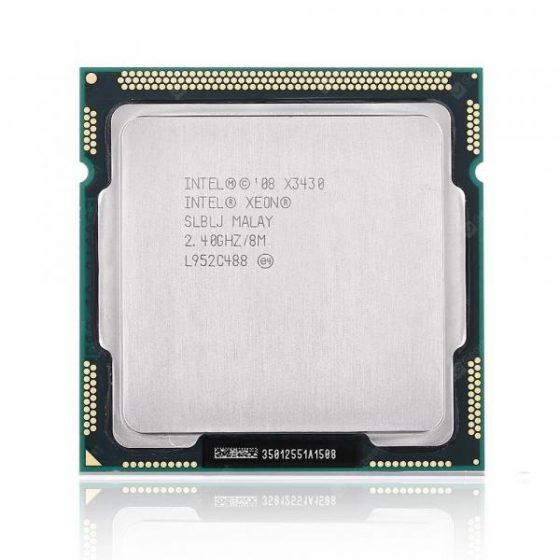 italiaunix-Intel Xeon X3430 Central Processing Unit CPU