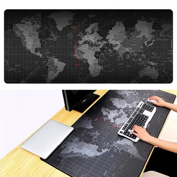 italiaunix-Large World Map Mouse Pad Gaming Mousepad Waterproof Foldable Game Mat  Gearbest