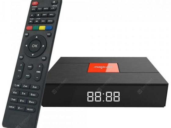 italiaunix-Magicsee C400 Hybrid S2 + T2 + C Android 7.1.2 TV Box