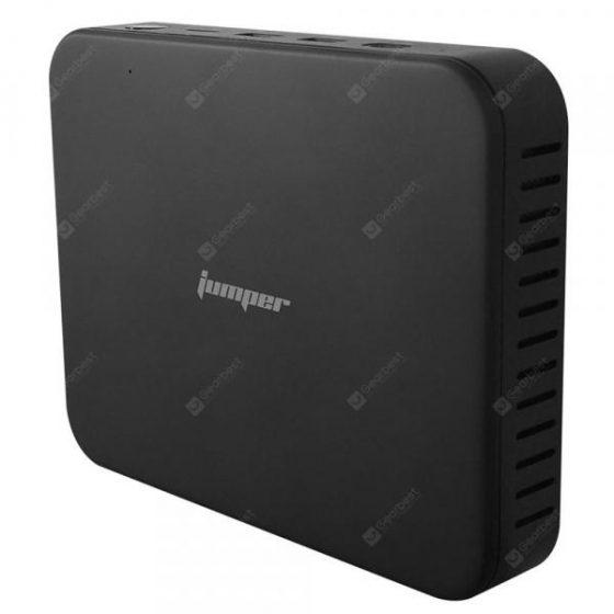 italiaunix-Main Title: Jumper EZbox Z8 Mini PC Subtitle: Intel Atom X5 - Z8350 Intel HD Graphics 500 2.4GHz+5GHz WiFi 1000Mbps 2 X USB3.0 BT4.0 Support Windows 10 Home