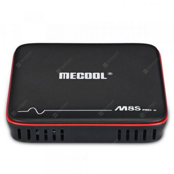 italiaunix-Mecool M8S PRO W 2.4G with Andriod OS Support TV Box