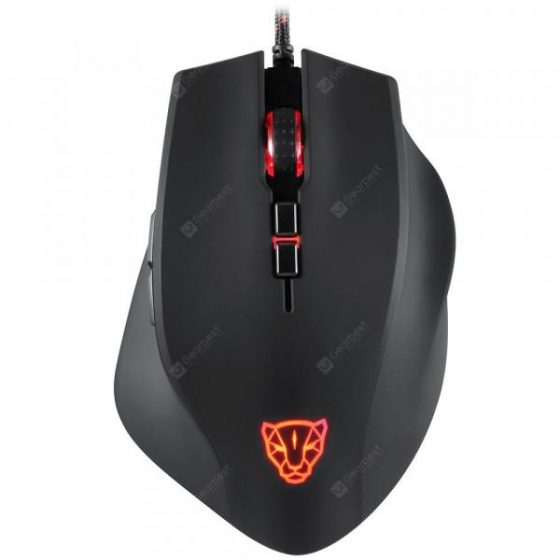 italiaunix-Motospeed V80 Wired Mouse RGB 5000DPI  Gearbest