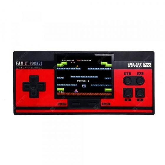 italiaunix-PRO Children Mini Nostalgic Handheld Game Console Support Extend Handle  Gearbest