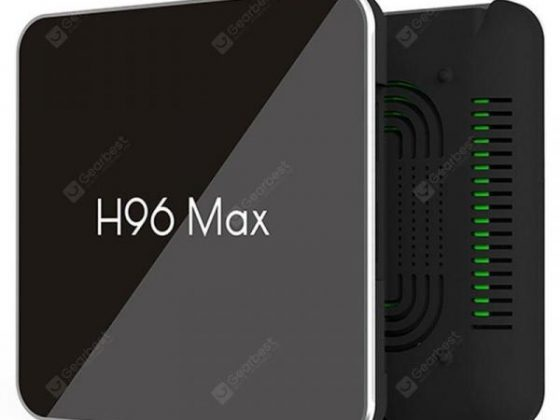 italiaunix-S905X2 H96 Max X2 Android 8.1 TV Box 4+64GB USB3.0 Set Top Box Voice Remote Cont