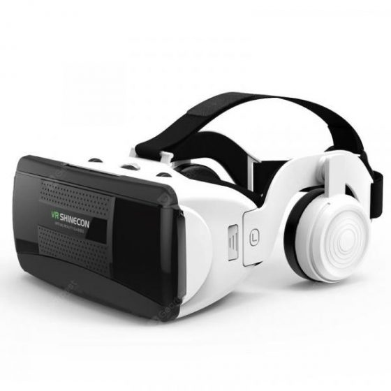 italiaunix-SHINECON New 3D Virtual Reality VR Glasses Come with HiFi Headphone