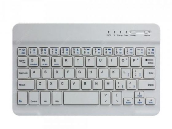 italiaunix-Slim Aluminium Wireless Bluetooth Tablet Keyboard  Gearbest