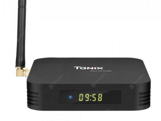 italiaunix-Tanix TX6 TV Box 2.4GHz + 5.8GHz WiFi BT5.0  Gearbest