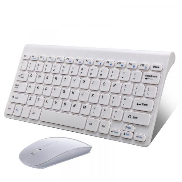 italiaunix-Ultra Slim 2.4G USB Wireless Keyboard and Mouse Set