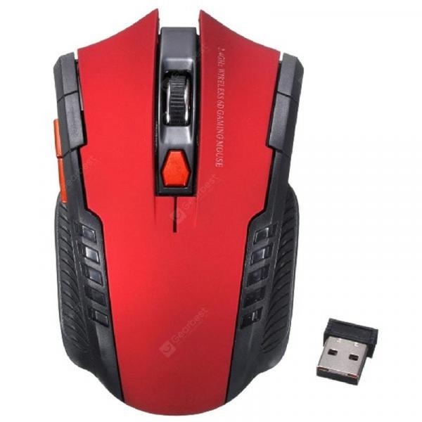 italiaunix-Wireless Optical 2000DPI Adjustable Professional Gaming Game Mouse  Gearbest
