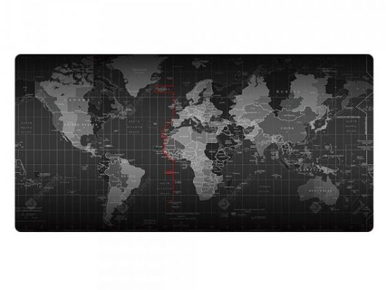 italiaunix-World Map Mouse Pad Large Pad / Keyboard Pad  / Waterproof Office Mouse Mat  Gearbest