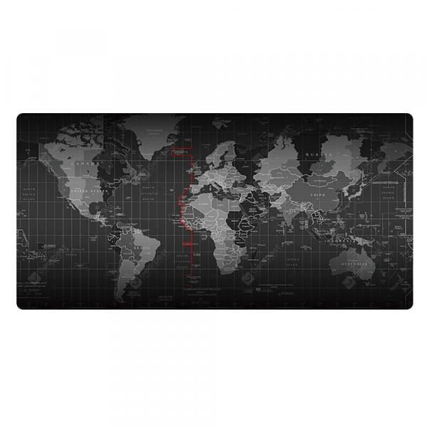 italiaunix-World Map Mouse Pad / Keyboard Pad / Waterproof Office Mouse Mat  Gearbest