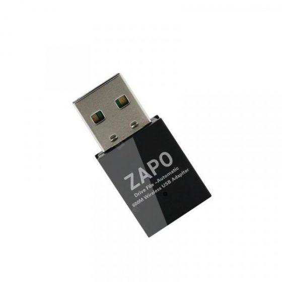 italiaunix-ZAPO W59 WiFi USB Wireless AC Double Antennas Network Card