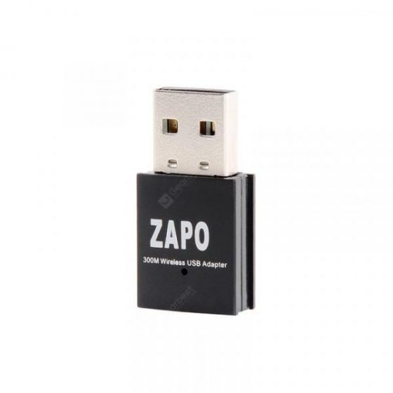 italiaunix-ZAPO W77 300MBPS USB 2.4G WIFI Adapter Wireless 802.11N High Speed Network Card