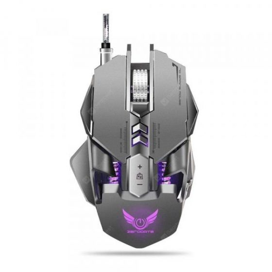 italiaunix-ZERODATE X300GY Wired Gaming Mouse with Adjustable DPI  Gearbest