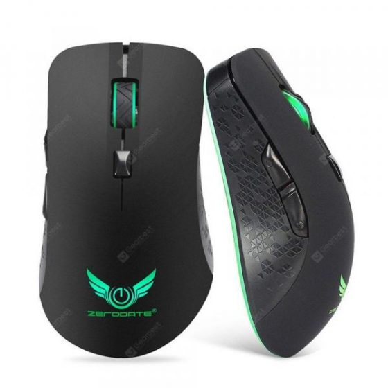 italiaunix-ZERODATE X90 Wireless Rechargeable Mouse
