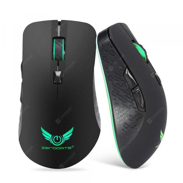 italiaunix-ZERODATE X90 Wireless Rechargeable Mouse