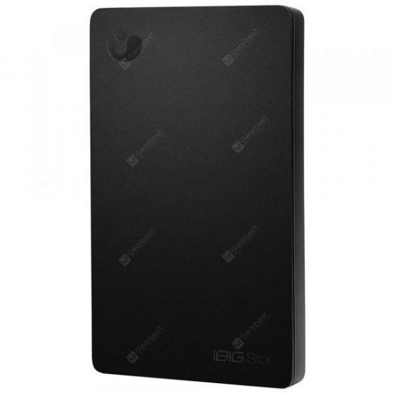 italiaunix-iBIG Stor WiFi + USB3.1 Portable 2.5 inch Hard Drive 1TB
