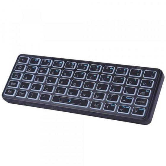 italiaunix-iPazzport KP - 810 - 73 Mini Bluetooth Wireless Keyboard 53 Keys for Xiaomi TV Box