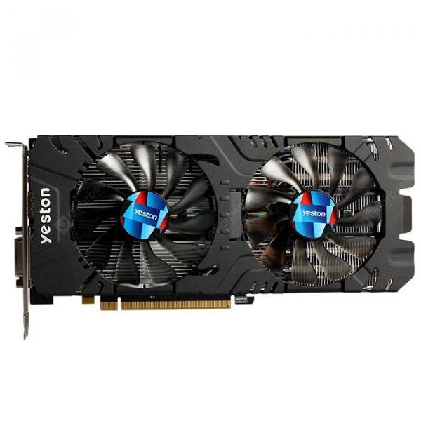 italiaunix-yeston RX570 4G 1244MHz Video VGA Graphics Card
